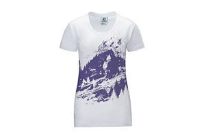 Salomon Mount Logo Tee - Womens