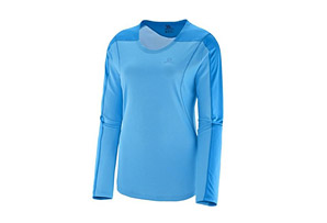 Salomon Apogee Long Sleeve - Womens