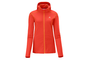 Salomon - Discovery Fullzip Midlayer - Womens