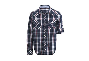 Scott Caplet Long Sleeve Shirt - Mens
