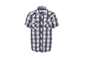 Scott Caplet Short Sleeve Shirt - Mens