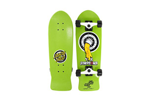 Santa Cruz Simpsons Homer One Micro Cruzer
