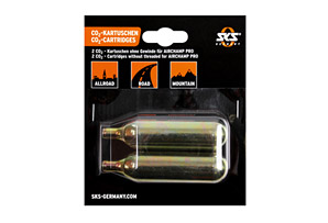 SKS Germany Unthreaded 16g CO2 Cartridges - Pack of 2