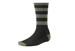 Smartwool Striped Hike Light Crew Socks - Mens