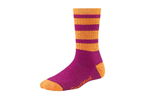 Smartwool Stripe Hike MD Crew Socks - Womens
