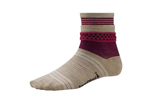 SmartWool Roll Top Dot Socks - Women's