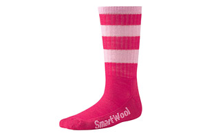 SmartWool Stripe Hike Light Crew Socks - Youth