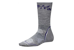 SmartWool PhD Outdoor UL Crew Pattern Socks - Women's