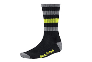 Smartwool Striped Hike Light Crew Socks - Men's