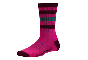 Smartwool Striped Hike Light Crew Socks - Women's