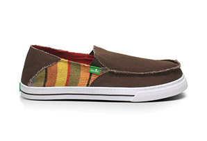 Sanuk Baseline Raw Shoe - Mens