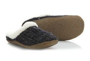Sorel Nakiska Slide Knit Slippers - Womens