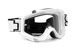 Spy Klutch White Sabbath Moto Goggles