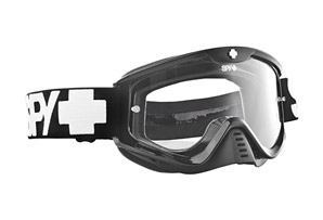 Spy Whip Mx Black Goggles