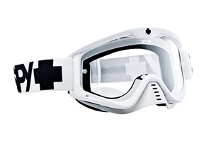 Spy Whip Mx White Goggles