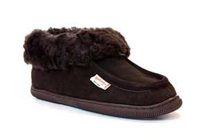 Staheekum Alps Genuine Suede Slipper - Womens