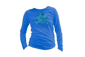 SustainU Tagged Tree LS Crew Tee - Wms