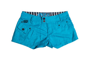 Ten-80 PDA Boardshorts Blue - Women's