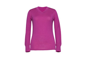 Terramar Thermawool V Neck - Wms