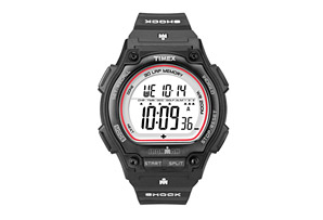 Timex Ironman Shock-Resistant Steel 30-Lap Watch