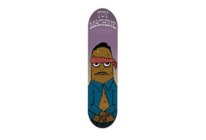 Toy Machine Vato Logo Deck