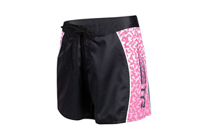 Bright Idea Spliced Board Shorts - Wms