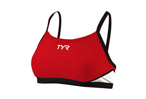 TYR Carbon Thin Strap Tri Support Bra - Wms