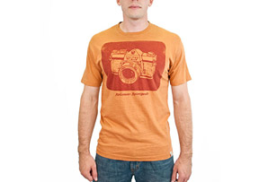 United By Blue Camera Tee- Mens