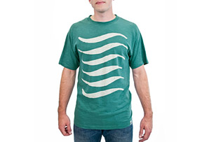 United By Blue Waves Tee- Mens