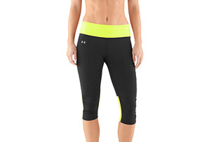 Under Armour Fly-By Compression Capri - Wms
