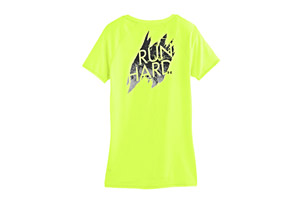 Under Armour Run Hard V-Neck - Womens