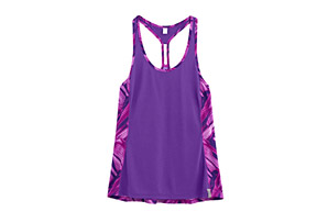 Under Armour Fly By Printed Mesh Tank - Womens