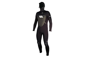 West Lotus 5/4 Fluid Seam Hooded Wetsuit - Mens