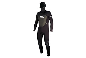 West Lotus 4/4 Fluid Seam Hooded Chestzip L/S Wetsuit - Mens