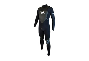 West Lotus 4/3 Fluid Seam Chestzip L/S Wetsuit - Mens