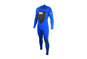 West Lotus 3/2 Fluid Seam Chestzip L/S Wetsuit - Mens