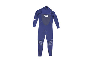 West Lotus 3/2 Fluid Seam Straight CZ L/S Wetsuit - Mens