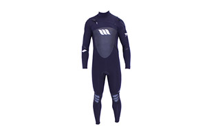 West Lotus 3/2 Fluid Seam Right CZ L/S Wetsuit - Mens