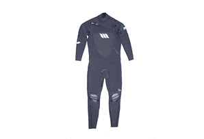 West Lotus 3/2 Fluid Seam Right CZ L/S Wetsuit- Mens