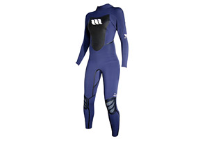 West Lotus 4/3 Fluid Seam GBS L/S Wetsuit - Womens