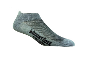 WrightSock Coolmesh Tab Double Layer Socks
