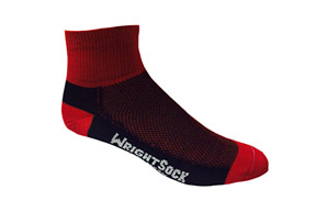 WrightSock Coolmesh Quarter Socks