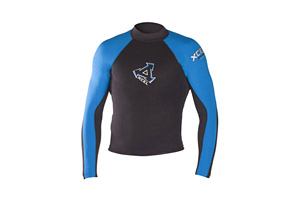 Xcel  2mm LS Reversible Wetsuit Top - Mens