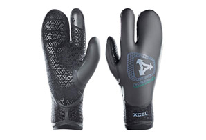 Xcel 5mm Dry Lock 3-Finger Glove