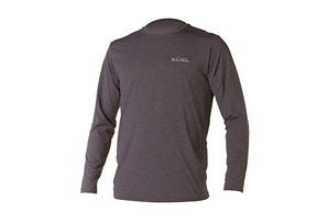 Xcel Ventx Heathered LS Rashguard - Mens