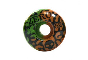 Zero Skull Stencil Leopard Wheel 52mm
