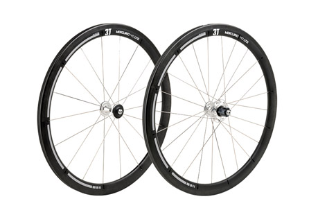 3T Mercurio LTD 40 Wheel Set - black, one size