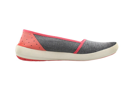 adidas Boat Slip-On Sleek - Women's: Save 30% Off - Softer than ever, this foot-hugging, stretchy slip-on provides all-day comfort in the outdoors.  Made with flexible, heathered textile, a perforated heel, and grippy Traxion outsole.  Features:  - Slip-on construction for easy and comfortable on and off  - Traxion outsole for the perfect combination of stability and grip  - 4mm drop