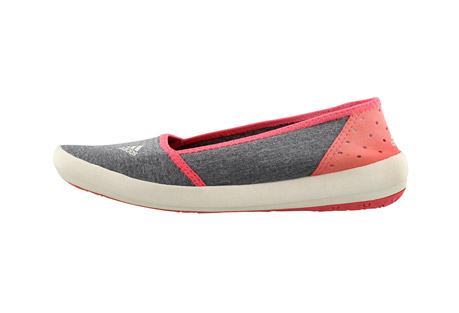 adidas boat slip-on sleek shoes - women's- Save 48% Off - Softer than ever, this foot-hugging, stretchy slip-on provides all-day comfort in the outdoors.  Made with flexible, heathered textile, a perforated heel, and grippy Traxion outsole.  Features:  - Slip-on construction for easy and comfortable on and off  - Traxion outsole for the perfect combination of stability and grip  - 4mm drop