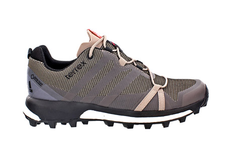 adidas terrex agravic gtx shoes - women's- Save 34% Off - Light, fast, and stable, this women's-specific trail running shoe has Boost endless energy return to push your limits.  Waterproof and breathable GORE-TEX keeps your feet dry. The Continental Rubber bike tire tread outsole gives extraordinary grip.  Features:  - Synthetic upper with abrasion resistant weldings  - GORE-TEX Extended Comfort lining  - Boost cushioning technology offers endless energy in the mountains and high adaptability on rocky surfaces. Continental Rubber outsole for extra traction  - 5.5mm lug height  - 6mm drop  - Fall/Winter 2016 - Discontinued Style